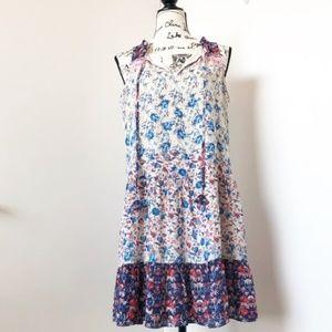 Anthropologie Sanctuary Boho Floral Print Dress